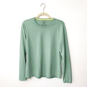 Patagonia Long Sleeve Green Shirt